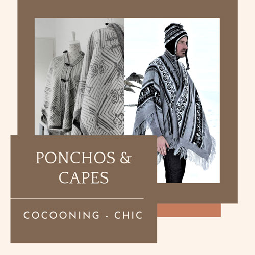Ponchos Capes - Inka Products
