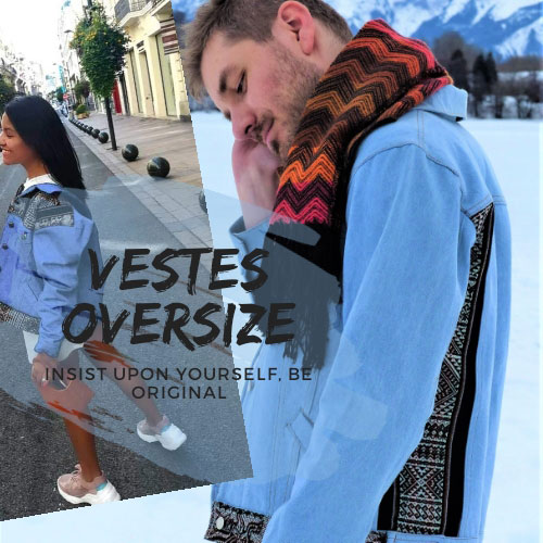 Veste oversize - Inka Products