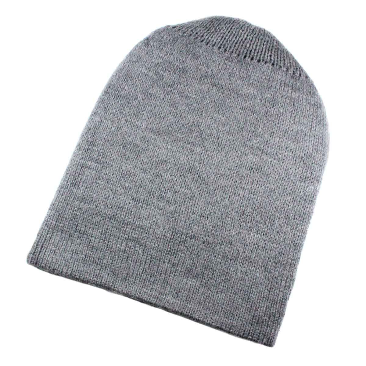 Inka-Products-Bonnet Réversible Alpaga-Gris et Gris Foncé-2