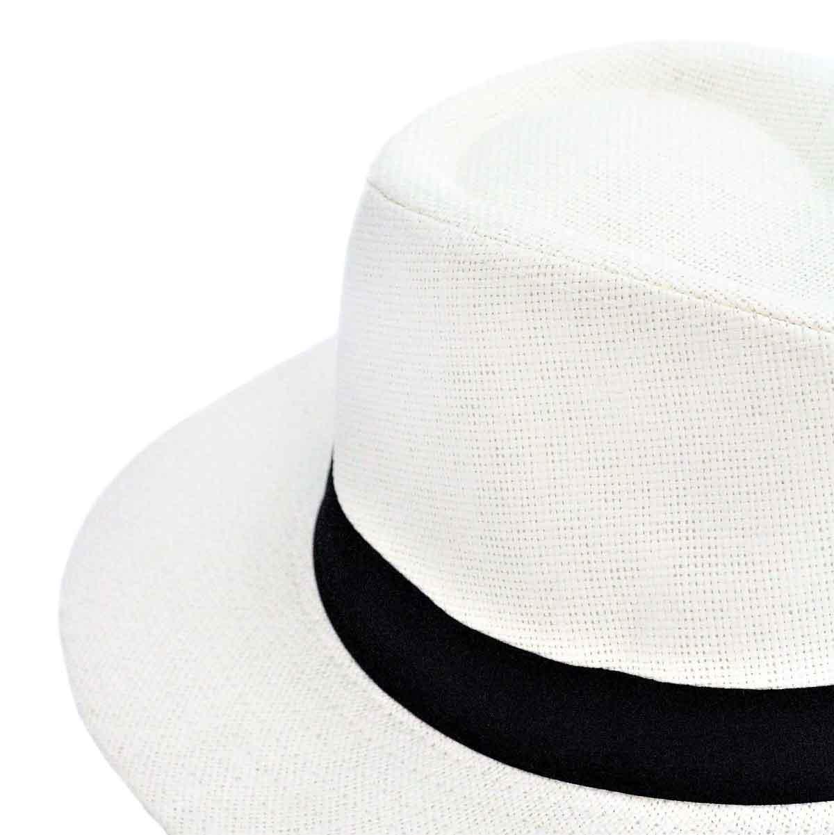 Inka-Products-Chapeau TOQUILLA-Paille avec Bandeau Noir-2