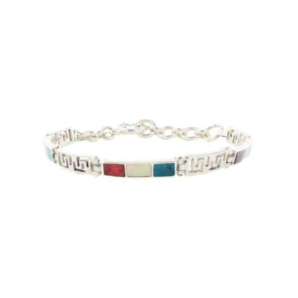 Bracelet YATI en Argent Argent 950ème avec pierres naturelles - Inka Products