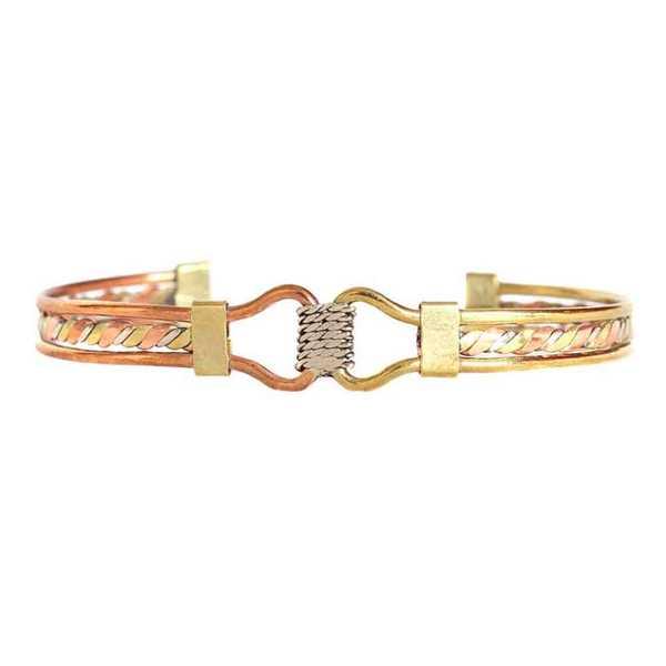 Bracelet Péruvien ÑAWI Trois Métaux - Inka Products