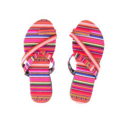 Inka-Products-Sandales Péruviennes-Rose