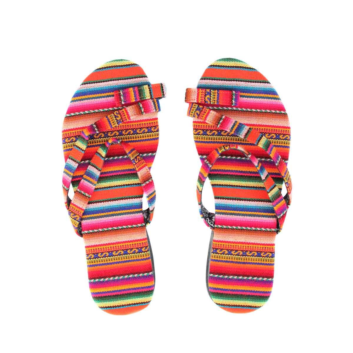 Inka-Products-Sandales Péruviennes-Orange
