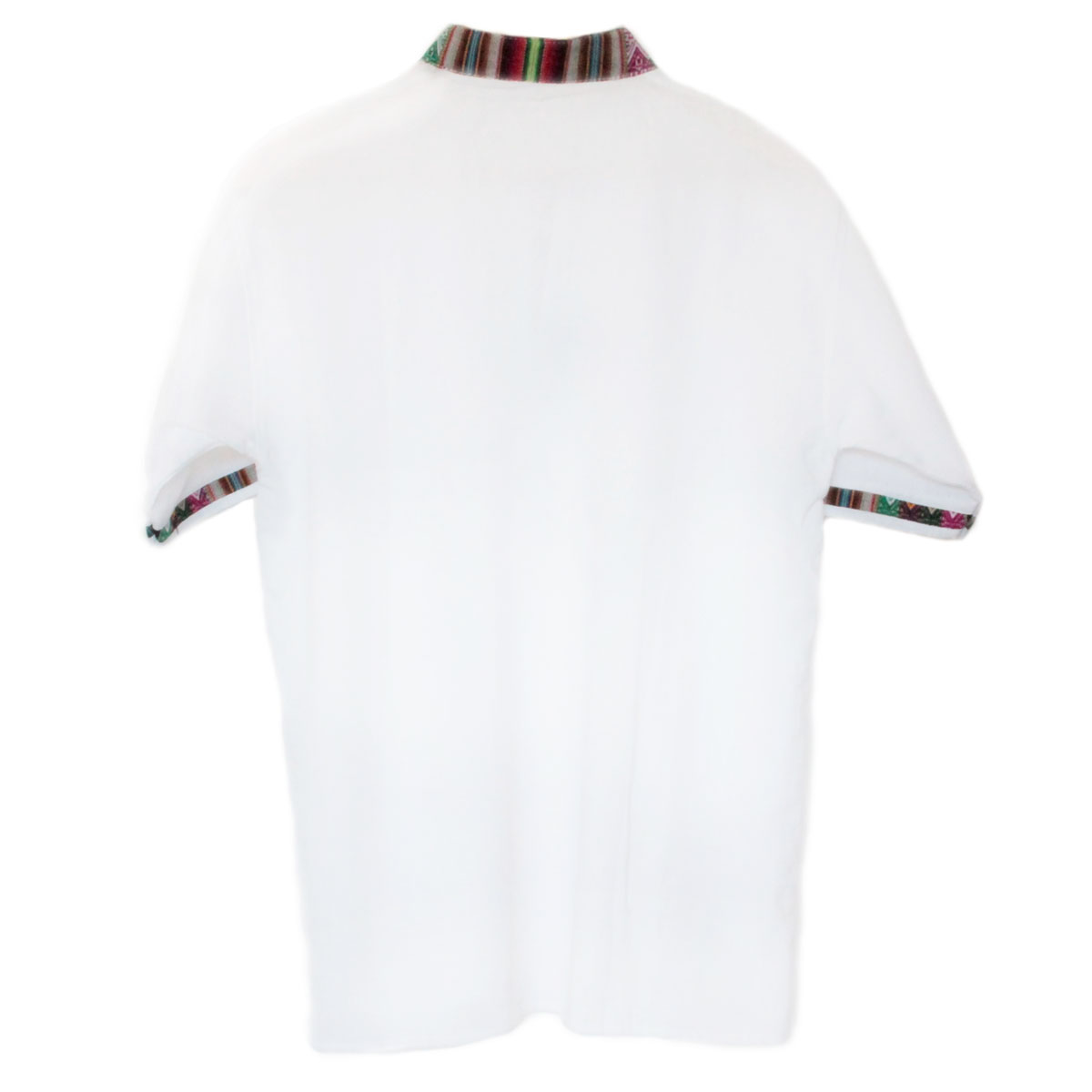 Inka-Products-Chemise Col Mao Homme-Tissu Traditionnel Andin Coloré-2