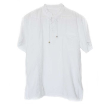 Inka Products Chemise Col Mao Homme Coton Péruvien