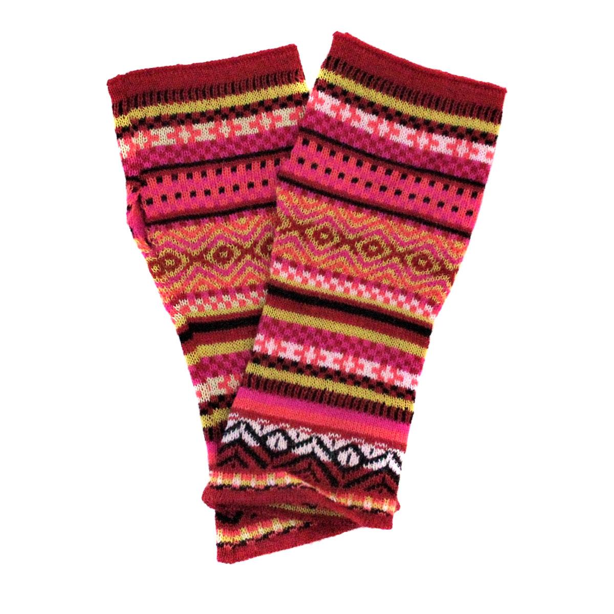 Inka-Products-Mitaines Longues-Colorées Motifs Ethniques-2