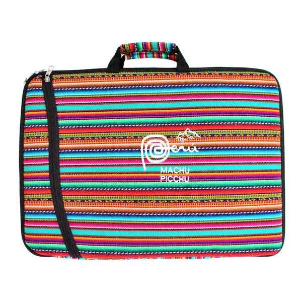 Housse Ordinateur Portable Tissu Péruvien Machu Picchu - Inka Products