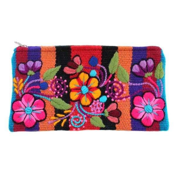 Trousse Pochette Ethnique RAYMI Brodé Main - Inka Products