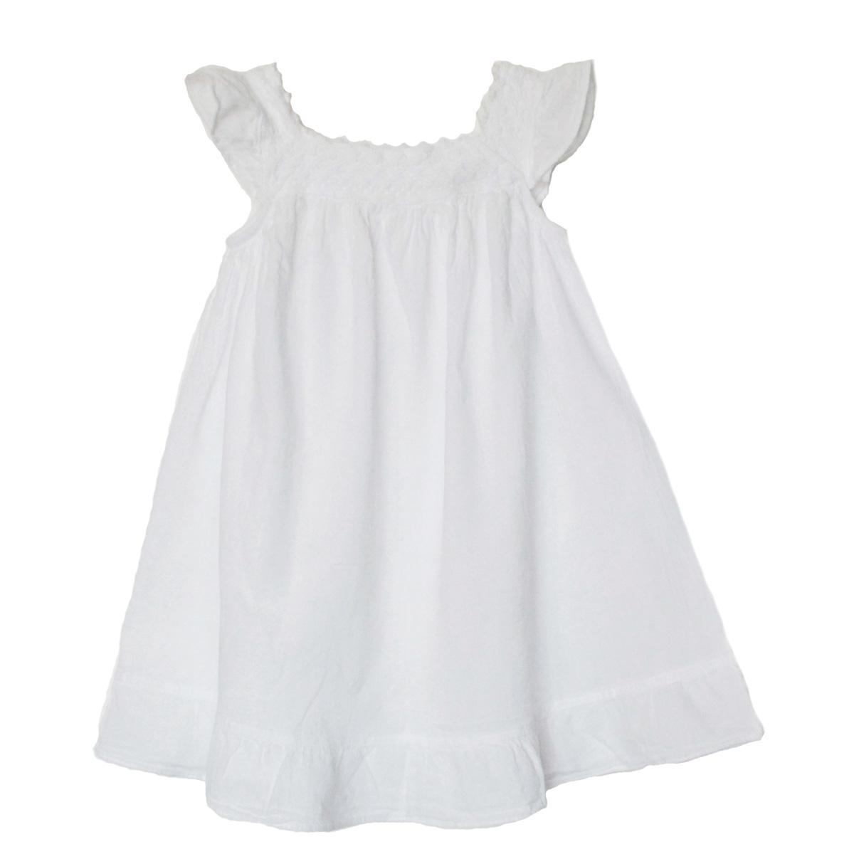 Inka-Products-Robe Fille Épaules Dénudées-En Coton Broderie Péruvienne-2