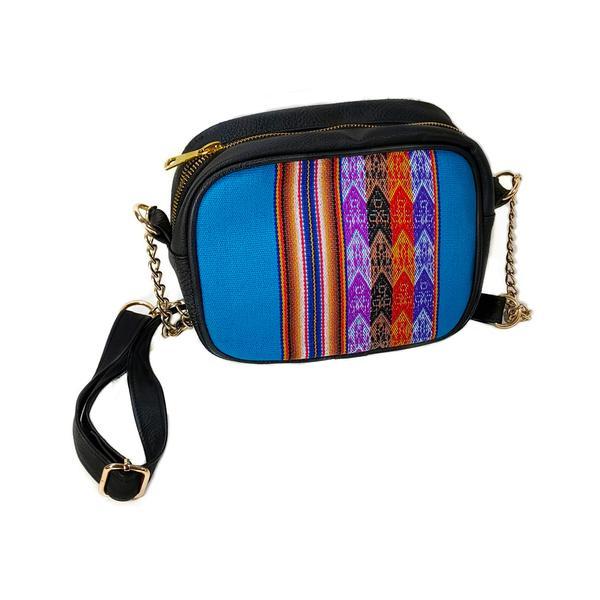 Sac en Bandoulière Femme LOLITA Toile Péruvienne Motifs Ethniques - Inka Products