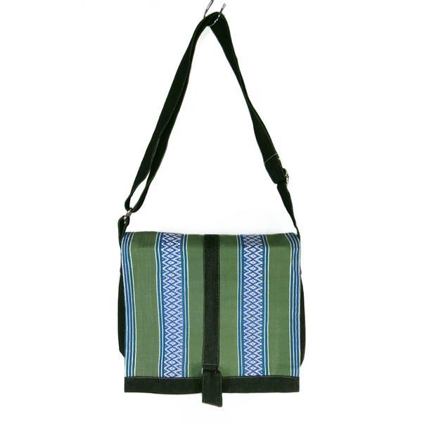 Sac en Bandoulière Denim Unisexe Motifs Mochica - Inka Products