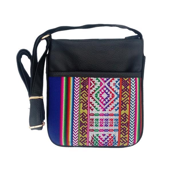 Sac en Bandoulière Inka Unisex Tissu Traditionnel Péruvien - Inka Products