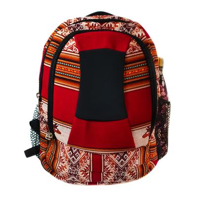 Inka-Products-Sac à dos Aventura-Tissu Traditionnel Péruvien Vinicunca