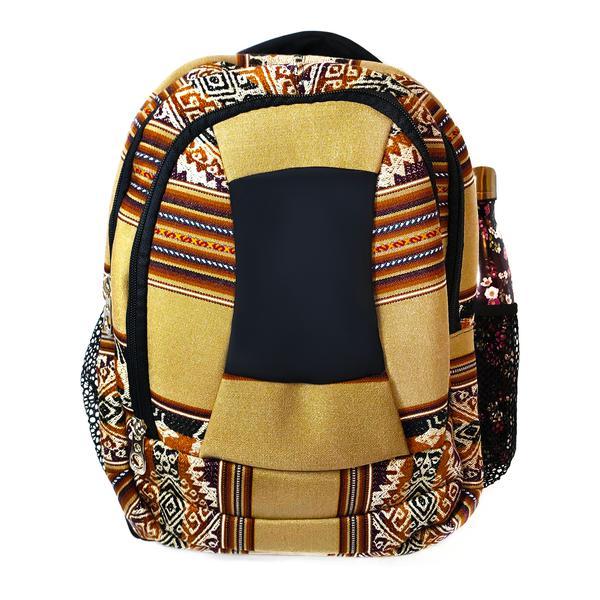 Sac à dos Aventura Tissu Traditionnel Péruvien Huacachina - Inka Products