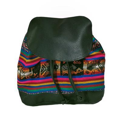 Inka-Products-Petit Sac à dos Ethnique SOFIA-Artisanal Fabriqué au Pérou