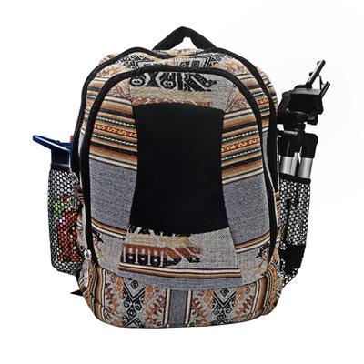 Inka-Products-Sac à dos Aventura-Tissu Traditionnel Canta Perú